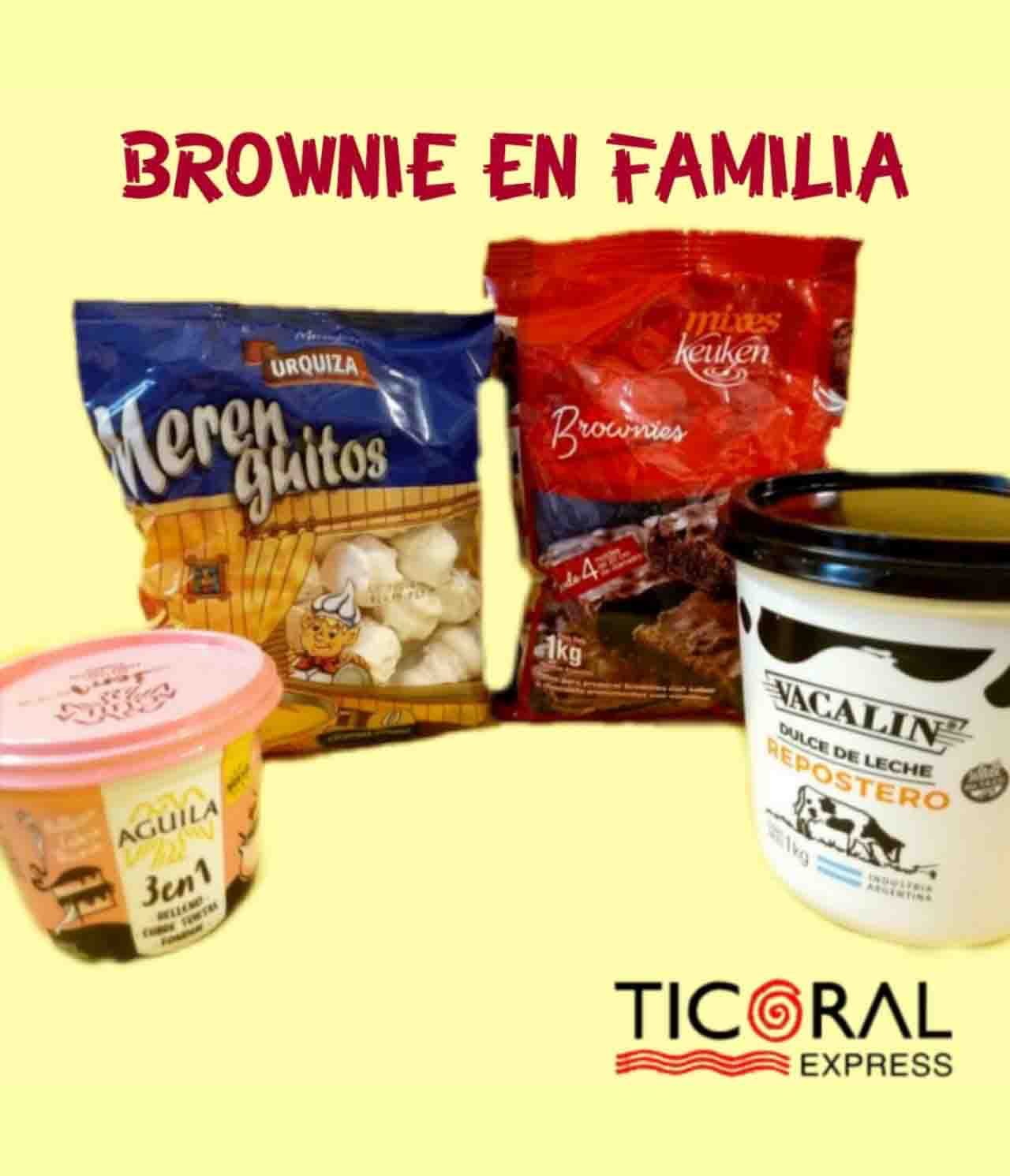 SET BROWNIE EN FAMILIA