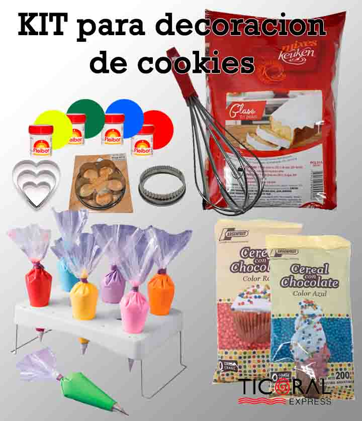 DECORANDO COOKIES