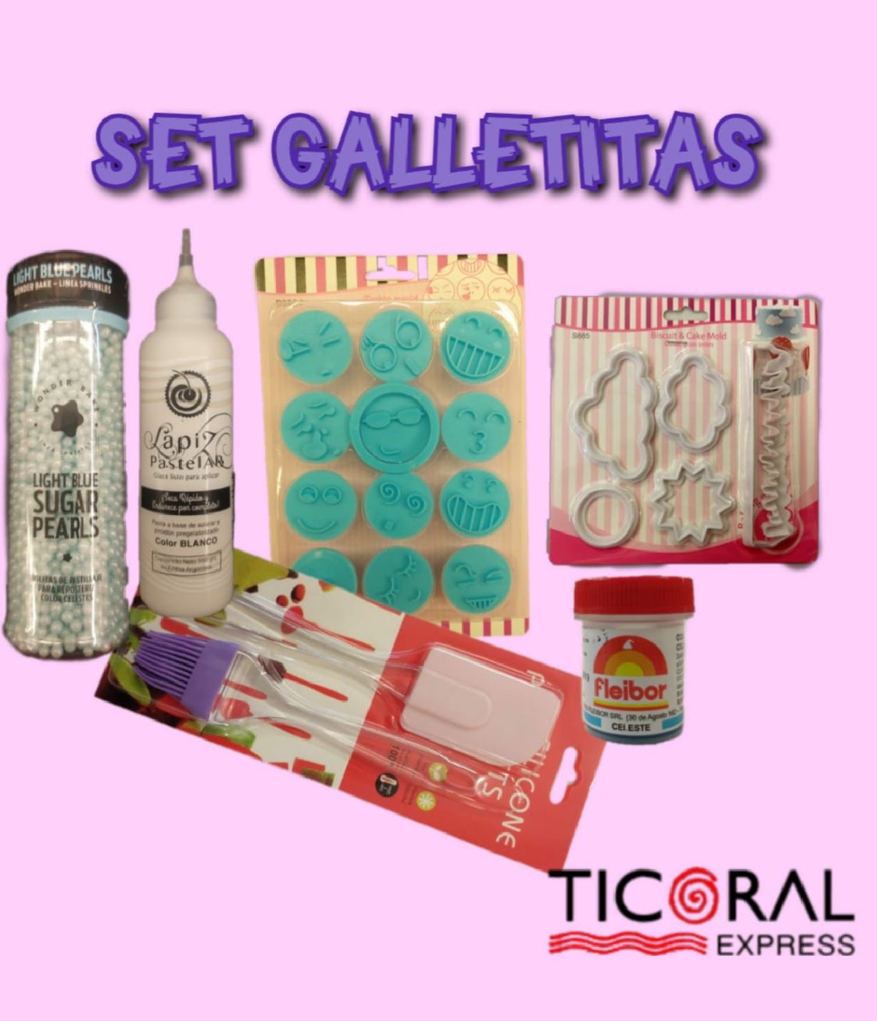 SET GALLETITAS