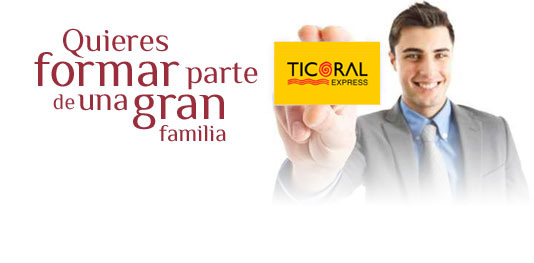 Enviá tu CV a Ticoral Express